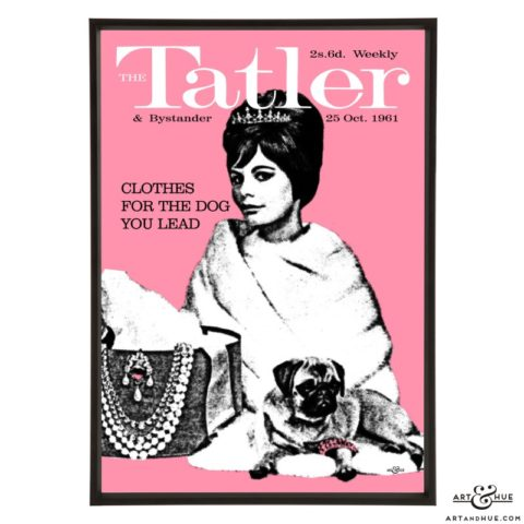 Tatler October 1961 pop art print by Art & Hue
