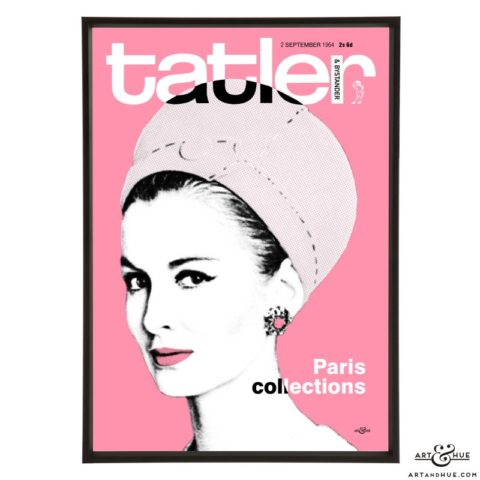 Tatler September 1964 pop art print by Art & Hue