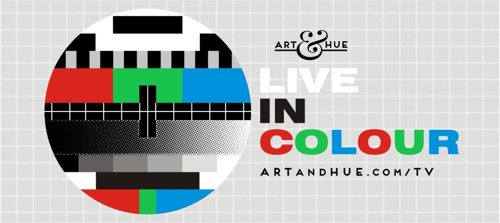 Art & Hue presents TV pop art prints