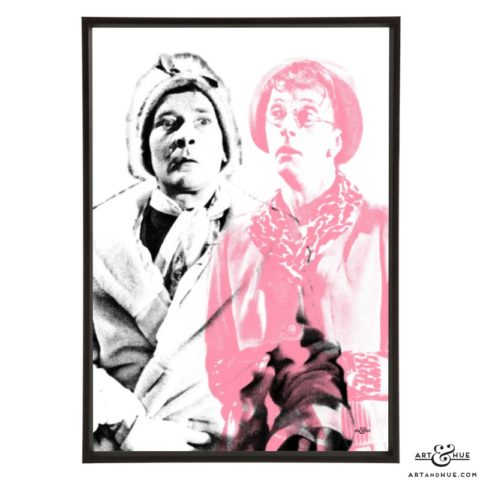 Carry On Drag pop art print by Art & Hue