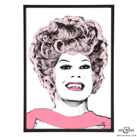 Danny La Rue pop art print by Art & Hue