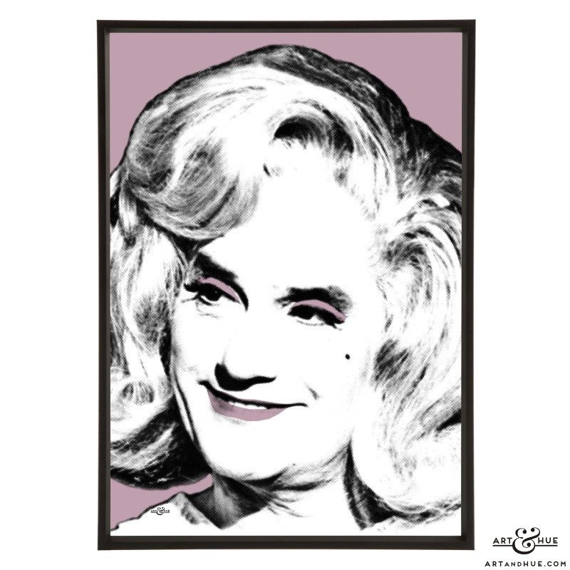 Dick Emery pop art print by Art & Hue