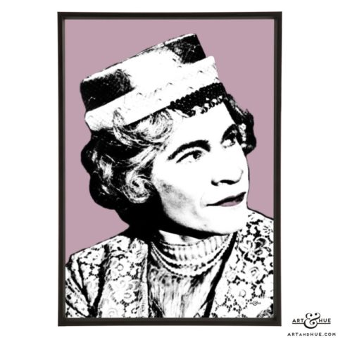 Stanley Baxter pop art print by Art & Hue
