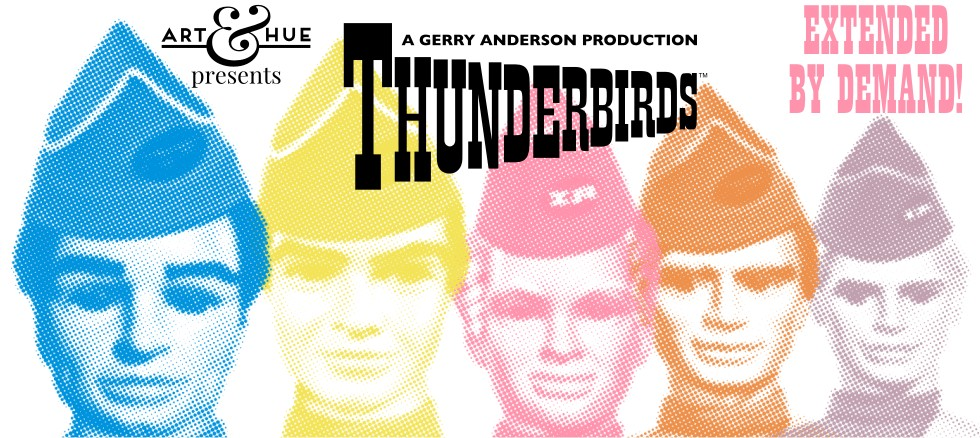 Art & Hue presents Thunderbirds pop art prints