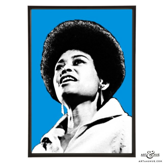Abbey Lincoln stylish pop art prints by Art & Hue