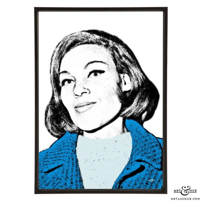 Cleo Laine stylish pop art prints by Art & Hue