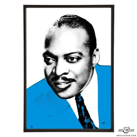 Count Basie stylish pop art prints by Art & Hue