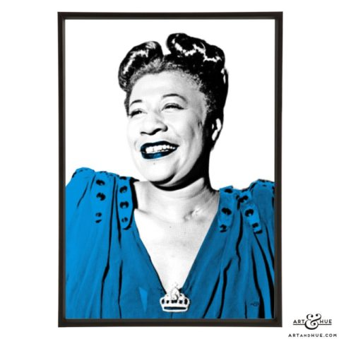 Ella Fitzgerald pop art prints by Art & Hue