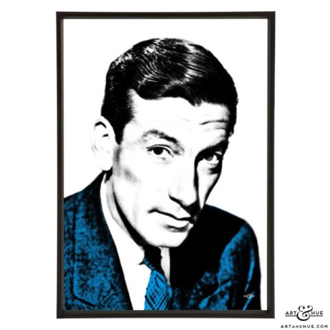 Hoagy Carmichael stylish pop art prints by Art & Hue