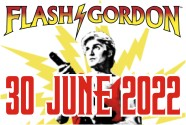Flash Gordon pop art by Art & Hue