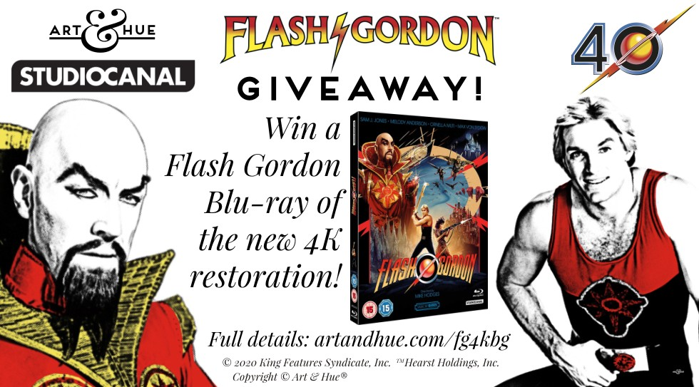 4k Giveaway Flash Gordon!