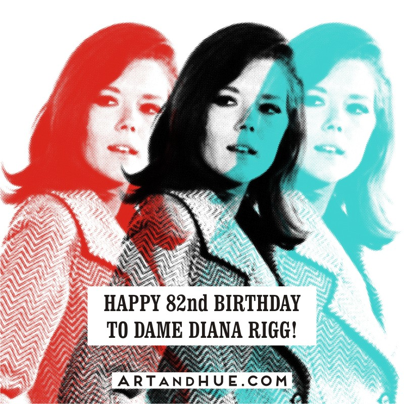 Happy birthday to Diana Rigg, 82 today!