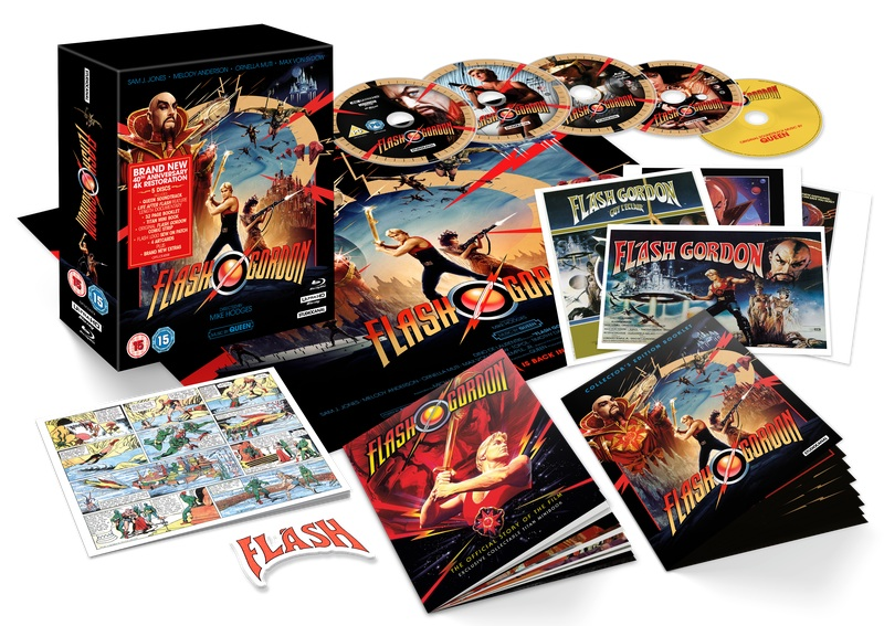 Collector's Ediiton Flash Gordon 4k Blu-ray
