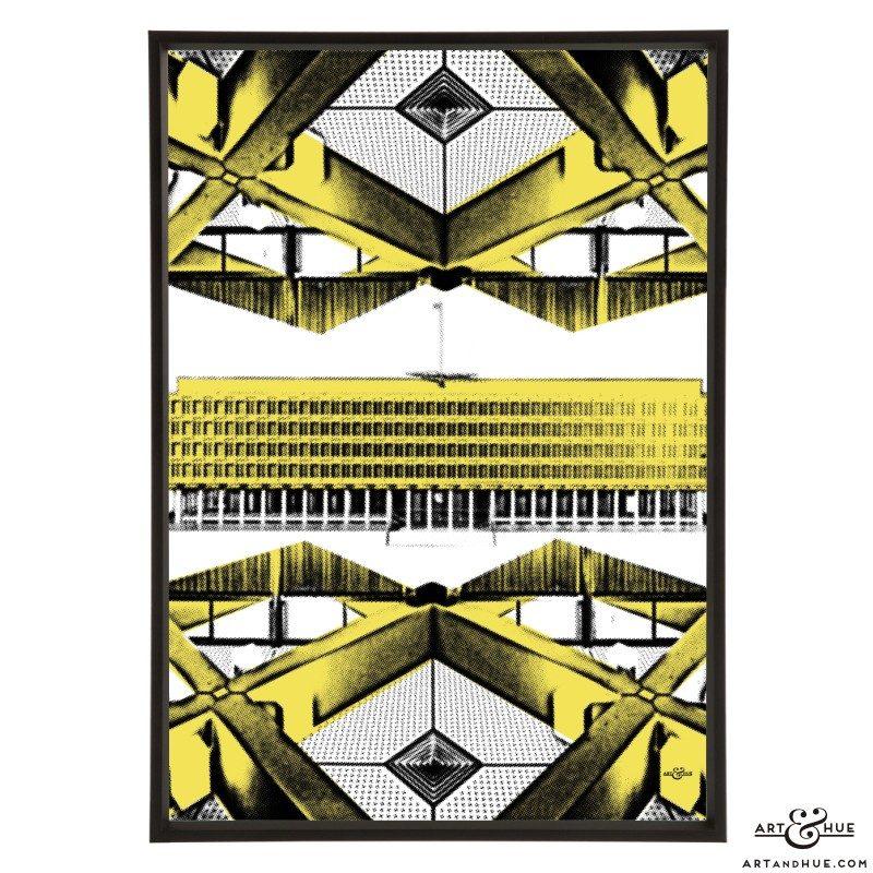 Embassy Architecture stylish pop art print by Art & Hue