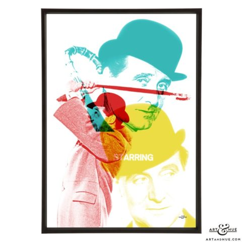 Steed Titles Pop art by Art & Hue