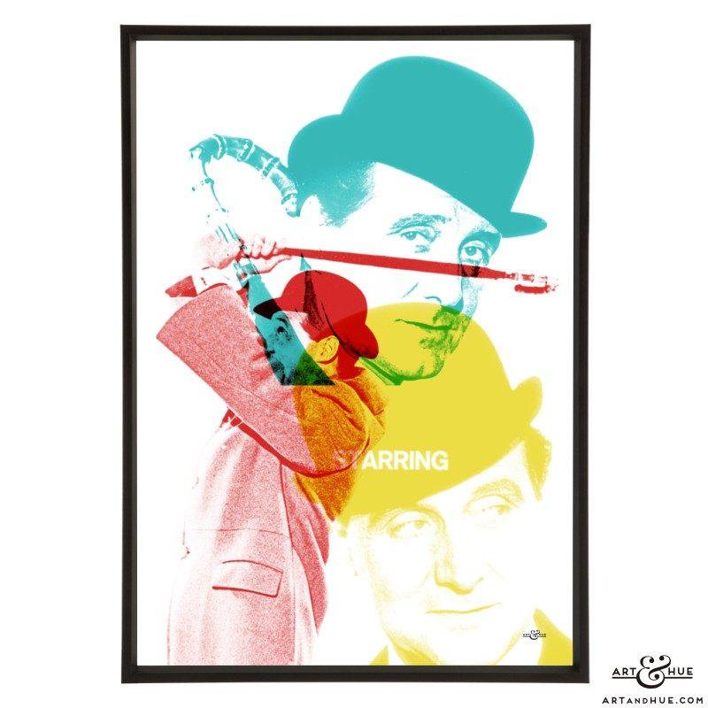Steed Titles Pop art by Art & Hue