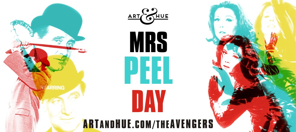 Mrs Peel Day Avengers