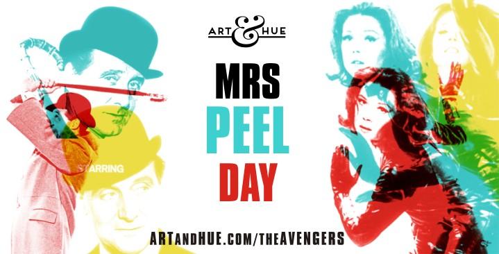 Mrs Peel Day Avengers