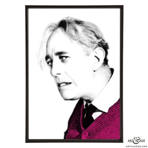 Alec Guinness Ladykiller stylish pop art print by Art & Hue