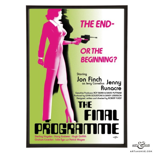 The Final Programme stylish pop art print by Art & Hue