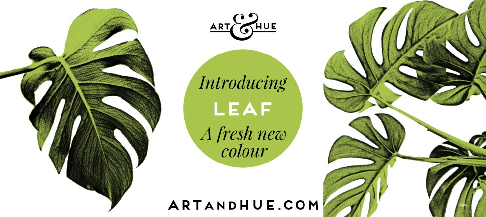 NEW Leaf Green by Art & Hue