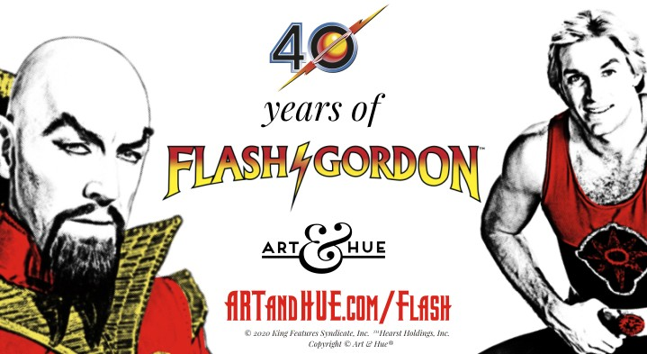 40 years of Flash Gordon the cult sci-fi classic