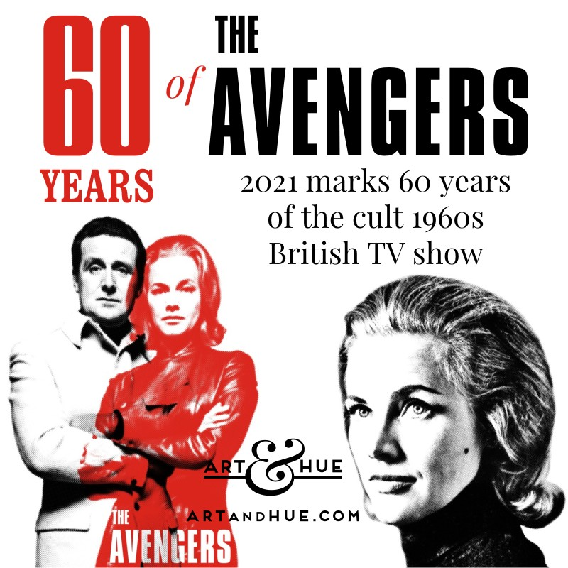60 years of The Avengers Honor Blackman as Cathy Gale