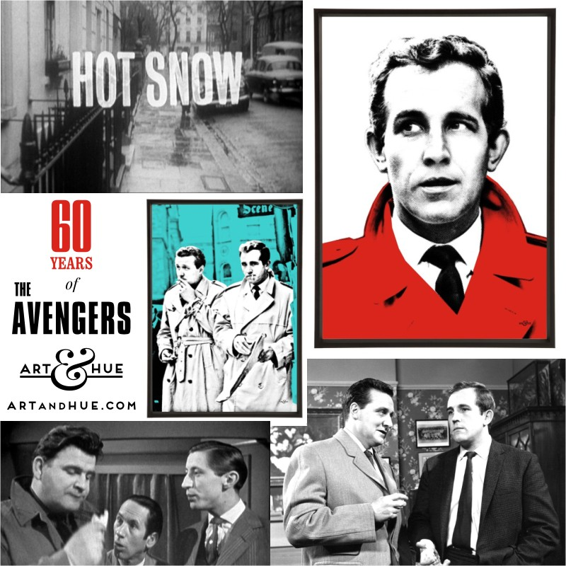 Hot Snow - the first ever episode of The Avengers