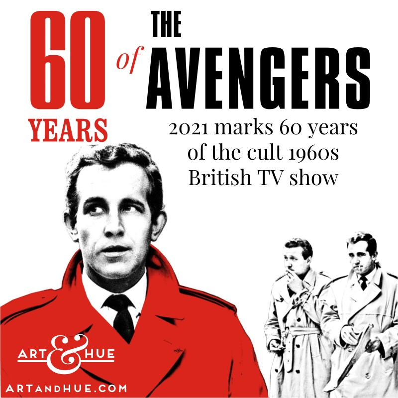 60 years of The Avengers Ian Hendry as David Keel