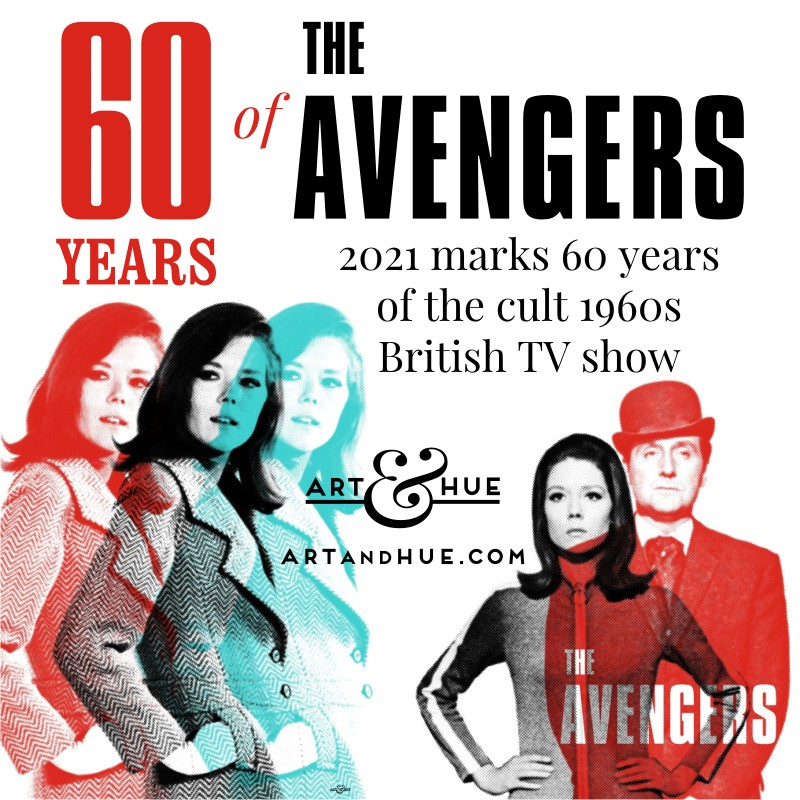 60 years of The Avengers Diana Rigg as Mrs Emma Peel