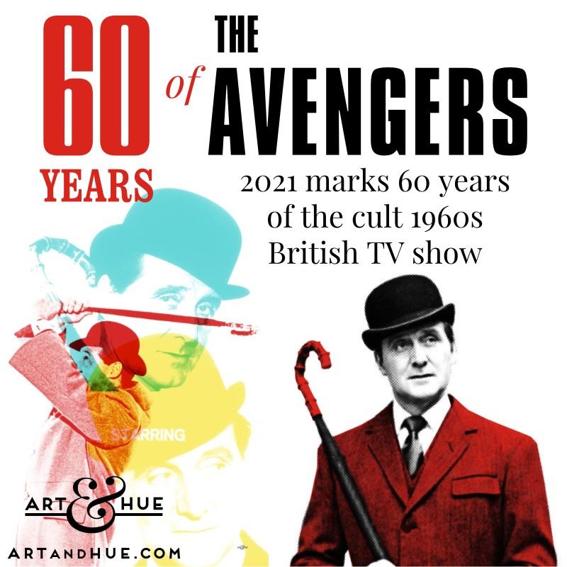 60 years of The Avengers Patrick Macnee as John Steed