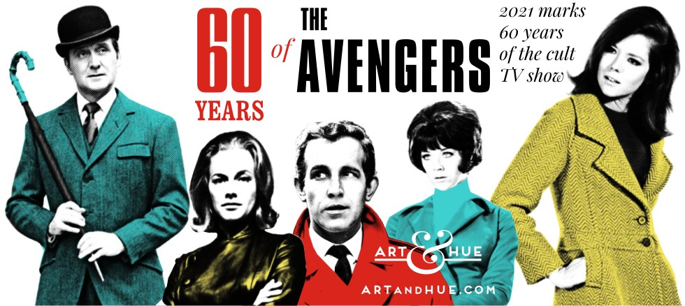 60 years of The Avengers the cult 1960s British TV show