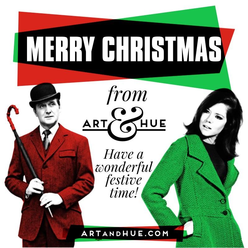 Merry Christmas Art & Hue