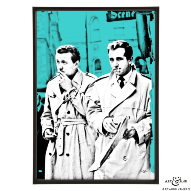 Steed & Keel stylish pop art print by Art & Hue