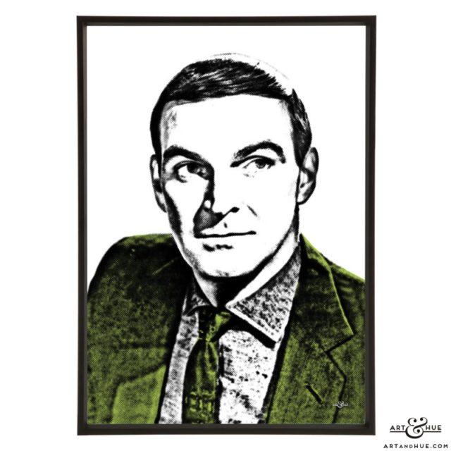 Stanley Baker stylish pop art print by Art & Hue