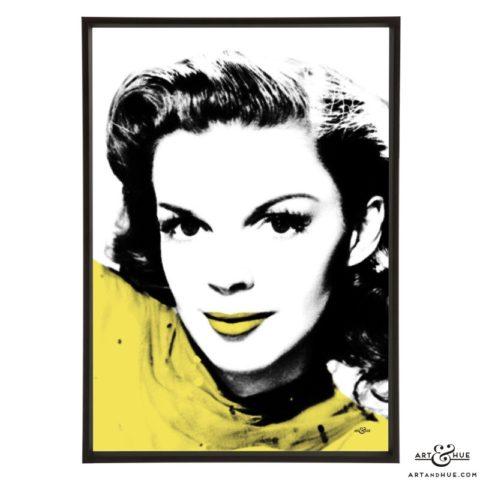 Judy Garland stylish pop art prints by Art & Hue