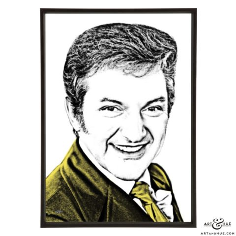 Liberace stylish pop art prints by Art & Hue