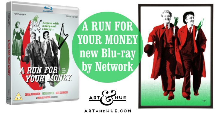 Network DVD & Blu-ray A Run for your Money Ealing Comedy