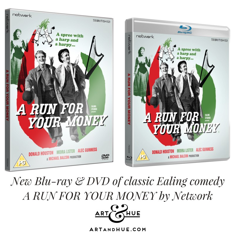 Network DVD & Blu-ray A Run for your Money classic Ealing Comedy