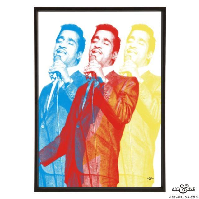 Sammy Davis Jr. stylish pop art prints by Art & Hue