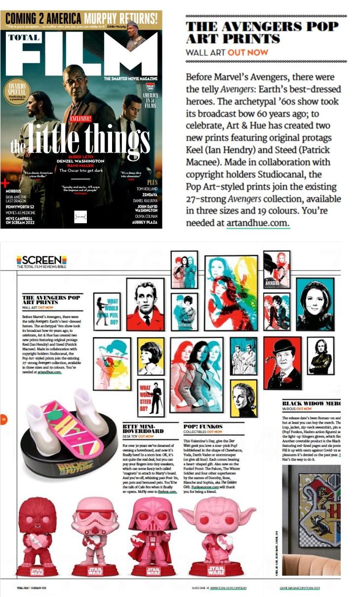 Total Film magazine The Avengers