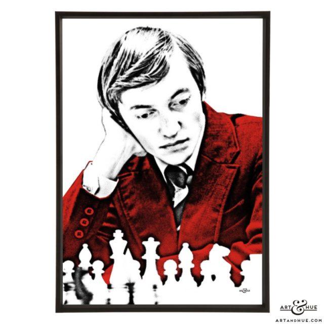 Karpov Anatoly stylish pop art print by Art & Hue