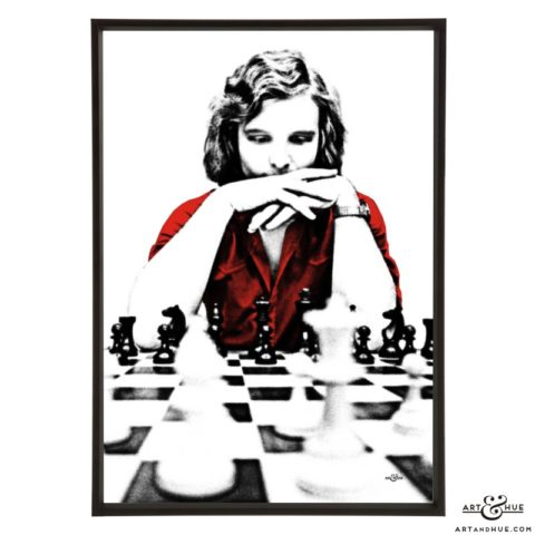 Tony Miles stylish pop art print by Art & Hue