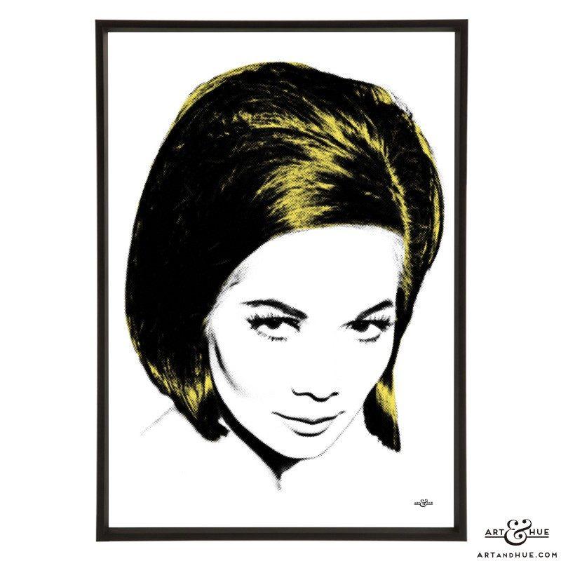 Kwan Cut stylish pop art print by Art & Hue