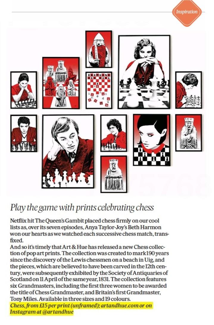 Scotland On Sunday Interiors - Chess - Homes & More News