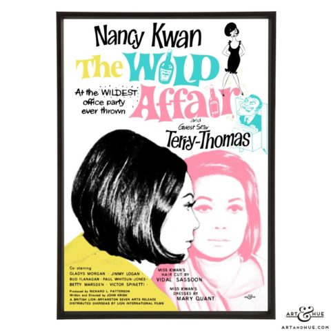 The Wild Affair pop art print by Art & Hue