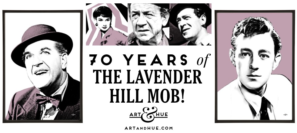 70 years of the classic Ealing Comedy The Lavender Hill Mob