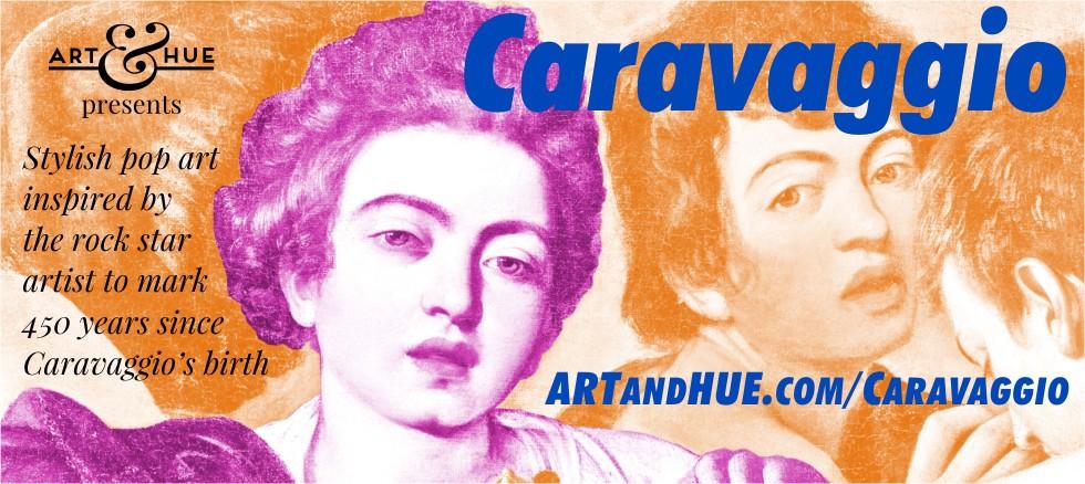 Art & Hue presents Caravaggio stylish pop art prints