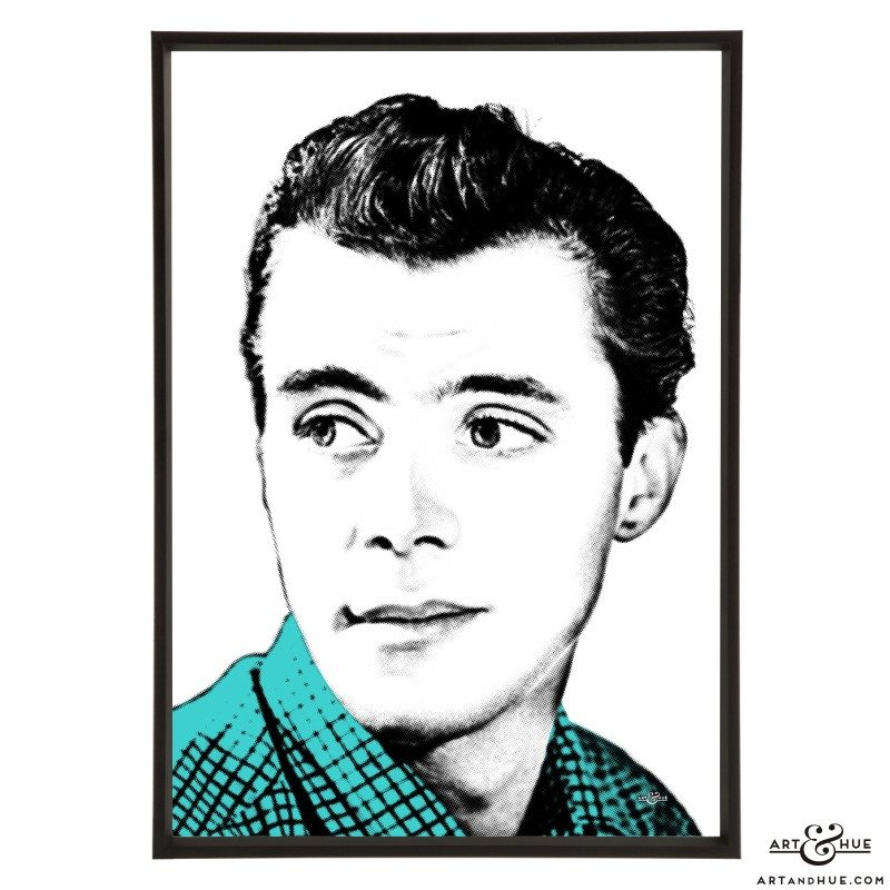 Dirk Bogarde stylish pop art print by Art & Hue