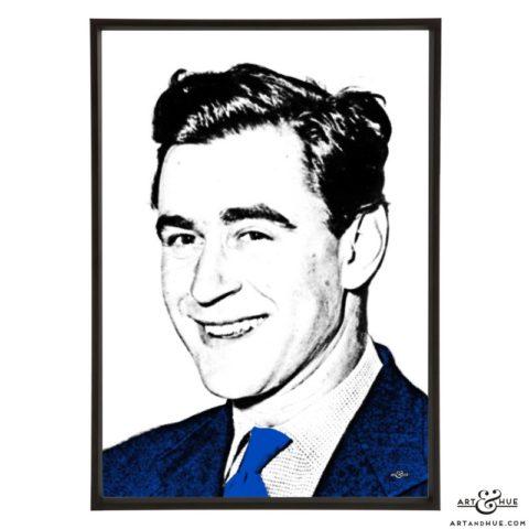 George Baker stylish pop art print by Art & Hue
